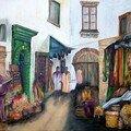 Le marché des épices, des senteurs et des arômes.
