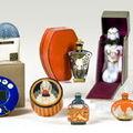 Vente aux enchères d'objets de parfumerie