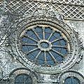 1100-1299 ST ETIENNE DE BEAUVAIS Rosace au croisillon Nord