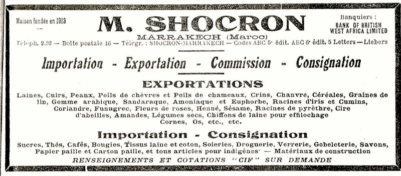 Professions Marrakech 1928-shocron 3