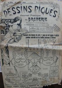 Dessins piqués n° 256 - 15 janvier 1922 (1)