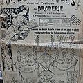 Dessins piqués n° 256 - 15 janvier 1922