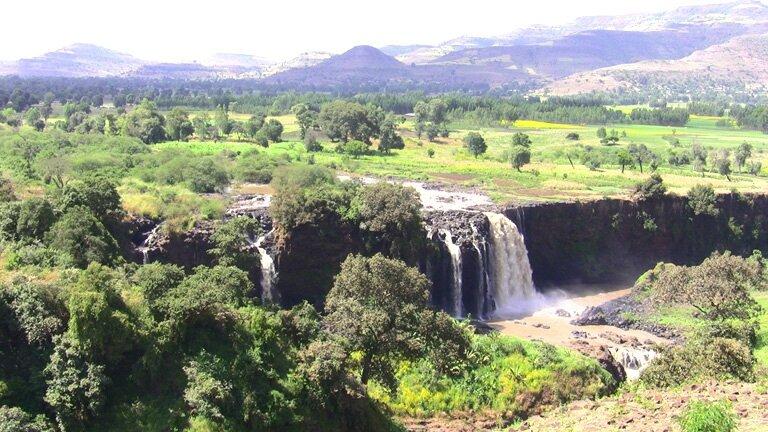 Tis Abay, cascades du Nil bleu
