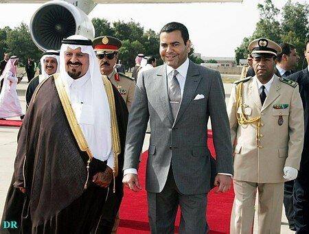 Prince Moulay Rachid and Crown Prince Sultan bin Abdul Aziz al-Saud Rabat, July 26, 2006