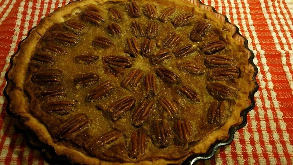 Pecan Pie ! au sirop d'érable et pointe de fleur de sel
