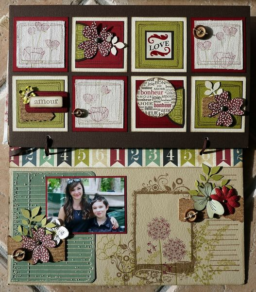mini album souvenirs par Cathyscrap85 28