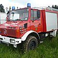 UNIMOG 1300L Freiwillige Feuerwehr Deckenpfronn équipé par Ziegler Bad Teinach - Schmieh (1)