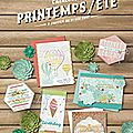 Le printemps chez stampin'up