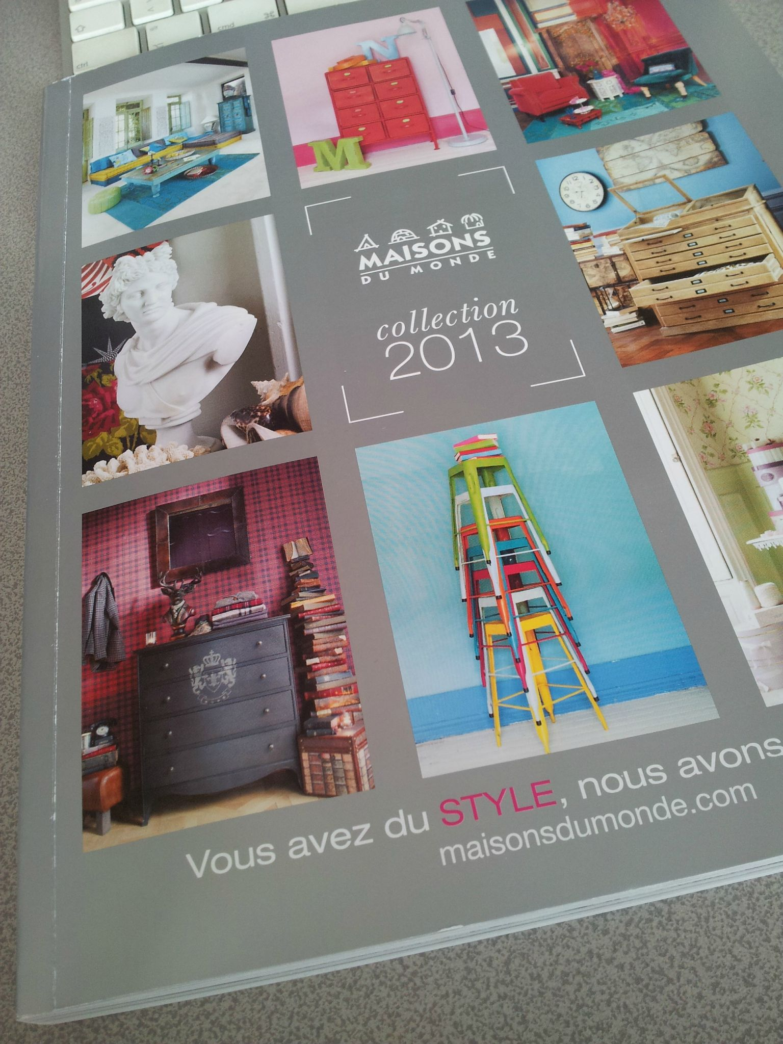 Catalogue maisons du monde great deco cuisine maison du for Nouveau catalogue maison du monde