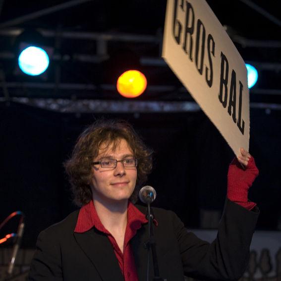 Le Gros Bal, Antoine Berland, (Photo de Jacky Cellier).