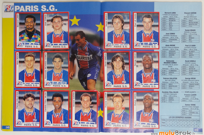 Album-panini-FOOTBALL-1995-8-PSG-muluBrok