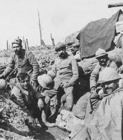 Tranchée_1916-Devilaine-Verdun