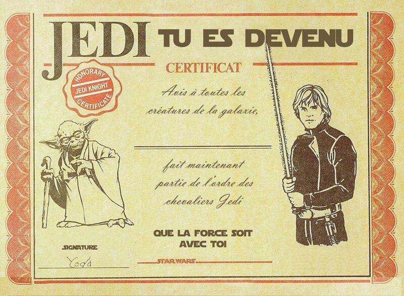 Jedi Certificat 3