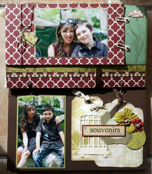 mini album souvenirs par Cathyscrap85 22