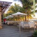 terrasse extérieure restaurant les quais