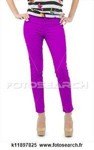 pantalon violet