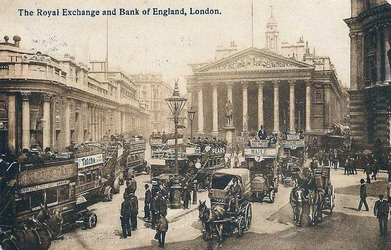 1917-06-21 Londres 2 930_001_1918-london-the-royal-exchange-and-bank-of-england