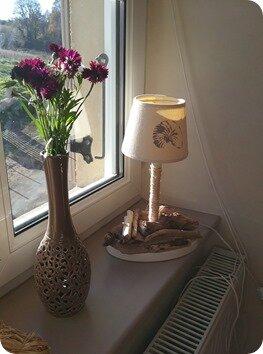 Petite lampe restaurée….