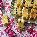 Oursons aux pépites de chocolat (mini cakes)