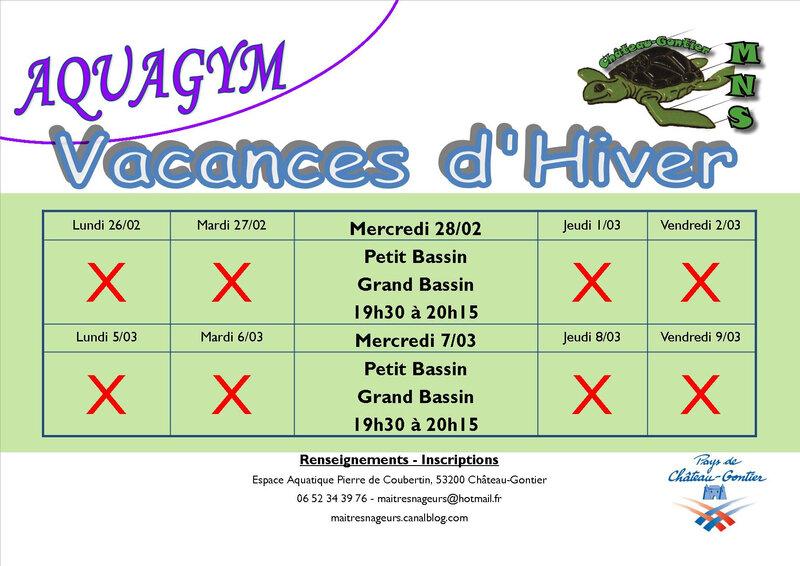 Affiche_Vacances Scolaires programme