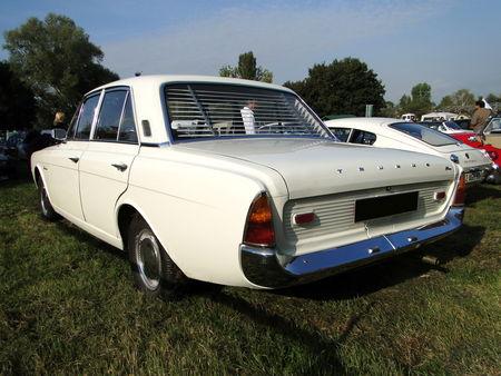 FORD Taunus 17M P5 4 portes 1964 1967 Nesles Retro Expo 2009 2