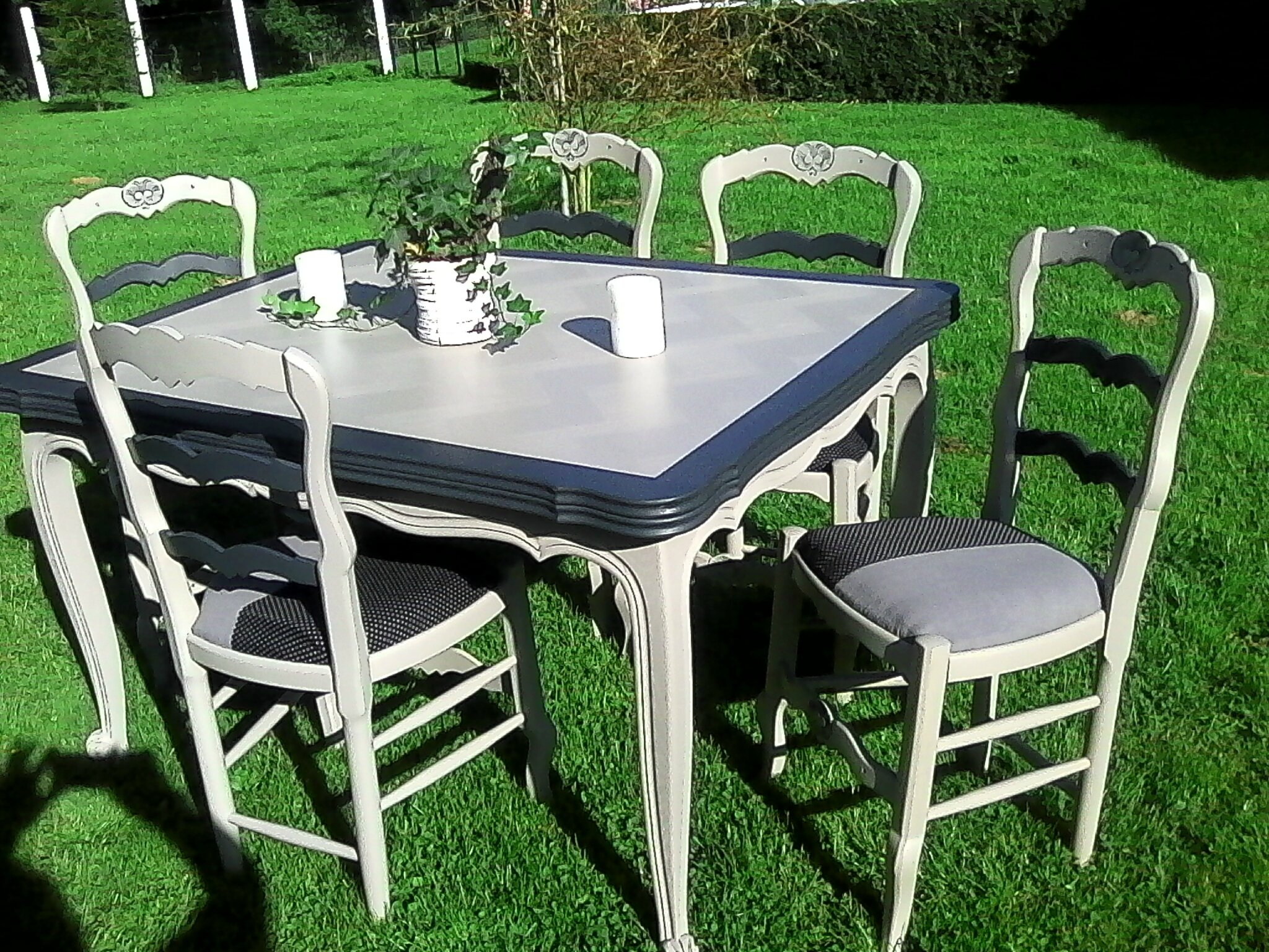 reste table et chaise vendre merci 120 euros l ensembles relook meubles62. Black Bedroom Furniture Sets. Home Design Ideas