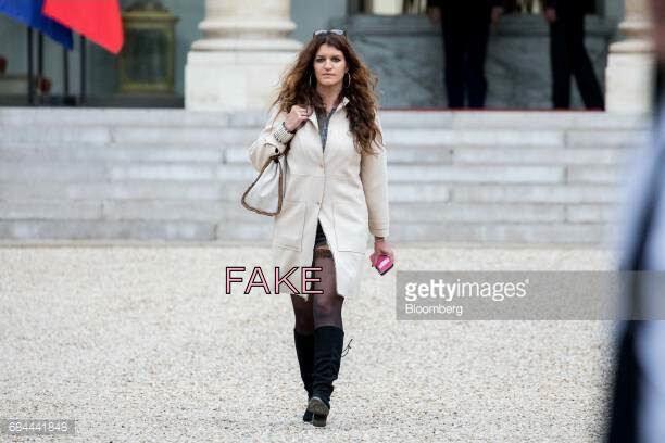 Marlène Schiappa, mini-jupe