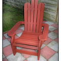 Chaise adirondack, episode 4 : finition