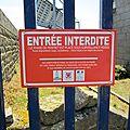 panneau Entrée....interdite