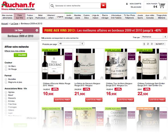 capture site auchan