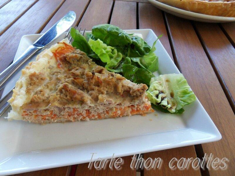 tarte thon carottes1