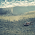 Sur la plage abandonnée 1