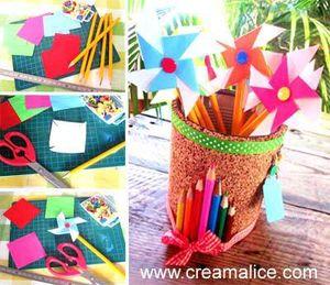 Crayons Moulin à vent