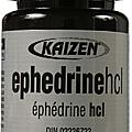 Éphédrine (ephedrine hydrochloride)