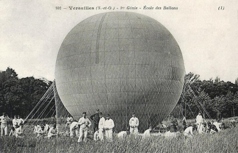 CPA Versailles Ecole des ballons 1er génie
