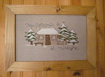 ma cabane à la montagne