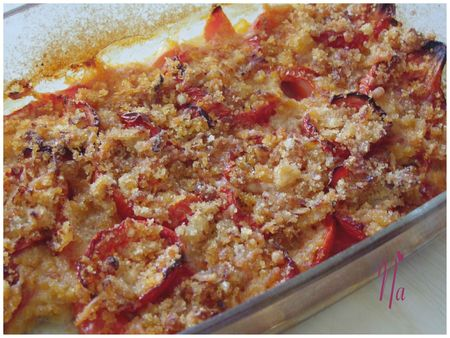 crumble tomates