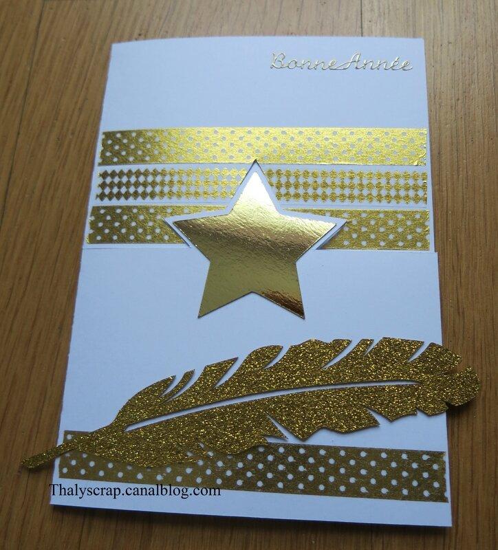 Carte étoile blanche - 01 b