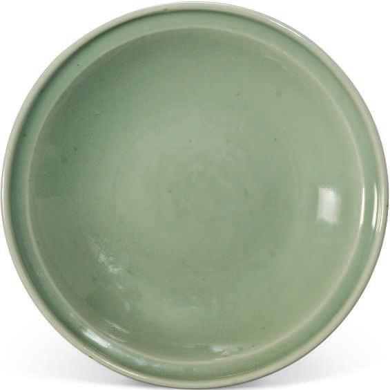 A Longquan celadon dish, Ming Dynasty (1368-1644)
