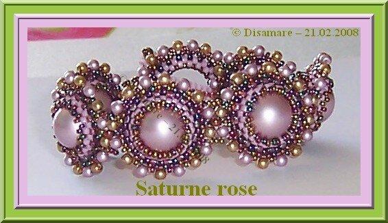 Saturne rose