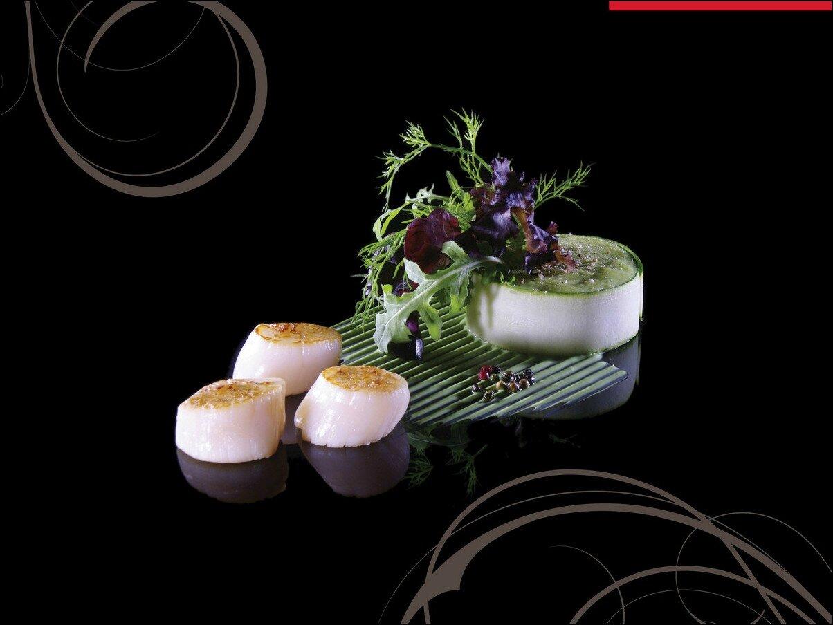 Coup de coeur visions gourmandes l 39 art de dresser une - Livre cuisine grand chef ...