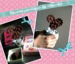 sucette pétillante au chocolat (scrap)