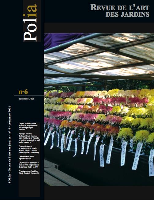 Polia revue de l 39 association pour l 39 histoire de l 39 art - Effroyables jardins histoire des arts ...