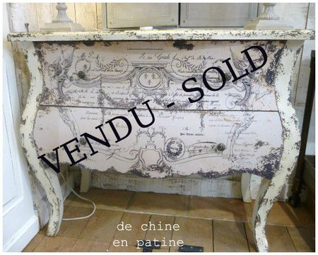 COMMODE MANUSCRIT copie