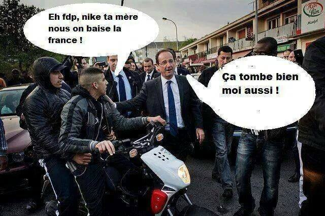 ps hollande racaille humour banlieue