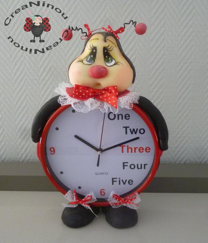 horloge coccinelle 3C