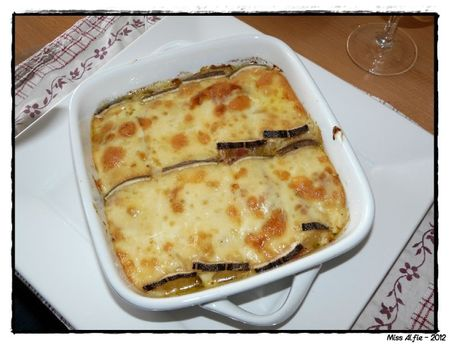 Gratin Lendemain de raclette