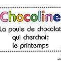 Newsletter n 42 - avril 2013 : spciale livre pop-up de Chocoline