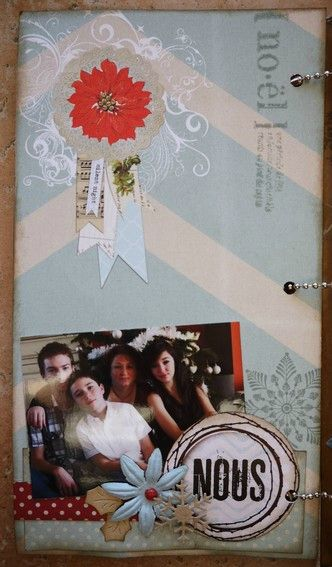 Mini album Scrapbox dcembre 8