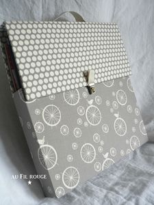 Valise pour papier scrap